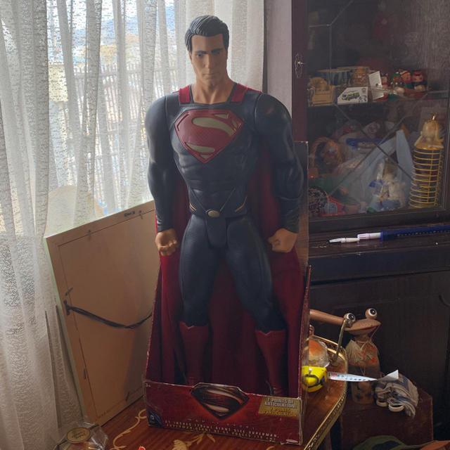 ドラえもん フィギュア | アメトイ  スーパーマン79センチフィギア新品の通販 by さとちゃんオモロショップ 見に来てね|ラクマ