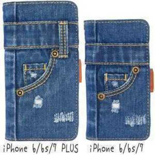 ◆本格デニム◆iPhoneケース デニム手帳型の通販 by イクミン's shop|ラクマ