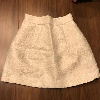 リリディア(Lilidia)のラメ スカート(ミニスカート)