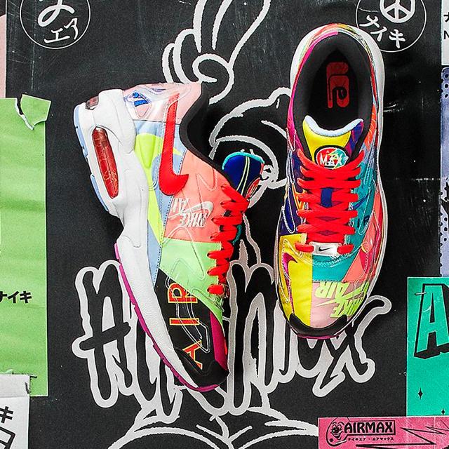 NIKE(ナイキ)のナイキ  アトモス エアマックス2ライト 25cm メンズの靴/シューズ(スニーカー)の商品写真