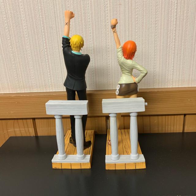 モルジアナ フィギュア | BANPRESTO - ワンピースDSフィギュアサンジ ナミ全2種 箱なし中古品セットのみの通販 by rakumaru|バンプレストならラクマ