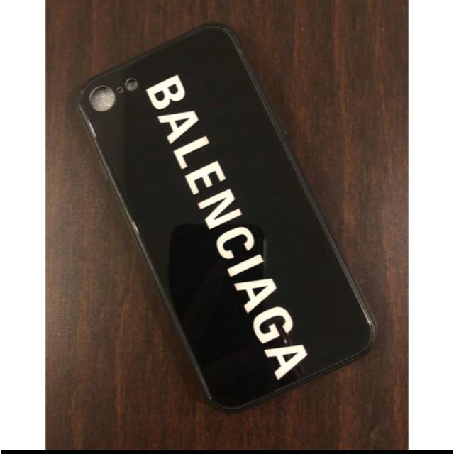 フラン フラン スマホケース iphone8 、 Balenciaga - バレンシアガ ガラス iPhoneケース iPhone8の通販 by yuzu♡'s shop|バレンシアガならラクマ