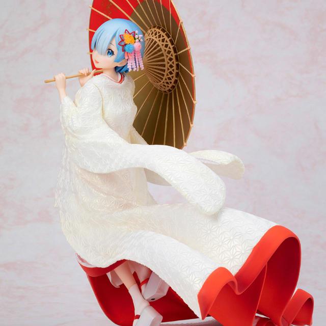 フィギュア 収納 おすすめ | F:NEX レム 白無垢  1/7フィギュア Re:ゼロから始める異世界生活の通販 by toshi's shop|ラクマ