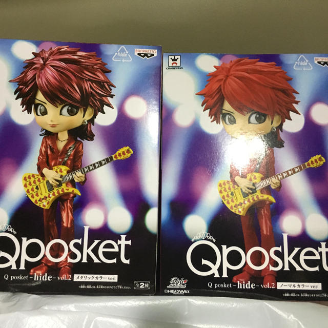 シャンクス フィギュア 買取 | BANPRESTO - Qposket hide XJAPAN ヒデ フィギュア ノーマルレアセットの通販 by たまちゃそ's shop|バンプレストならラクマ