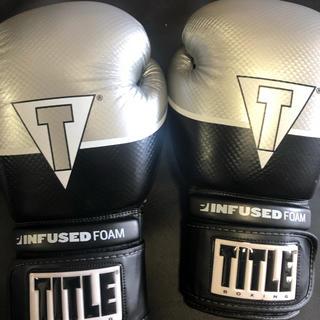 TITLE ボクシンググローブ 14オンス(ボクシング)