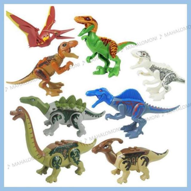 イワンコフ フィギュア | ○ LEGO レゴ 互換 ○ 恐竜 ジュラシックワールド 8体セット (C)の通販 by MAHALOMONI's shop|ラクマ