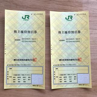 JR東日本 株主優待(鉄道乗車券)
