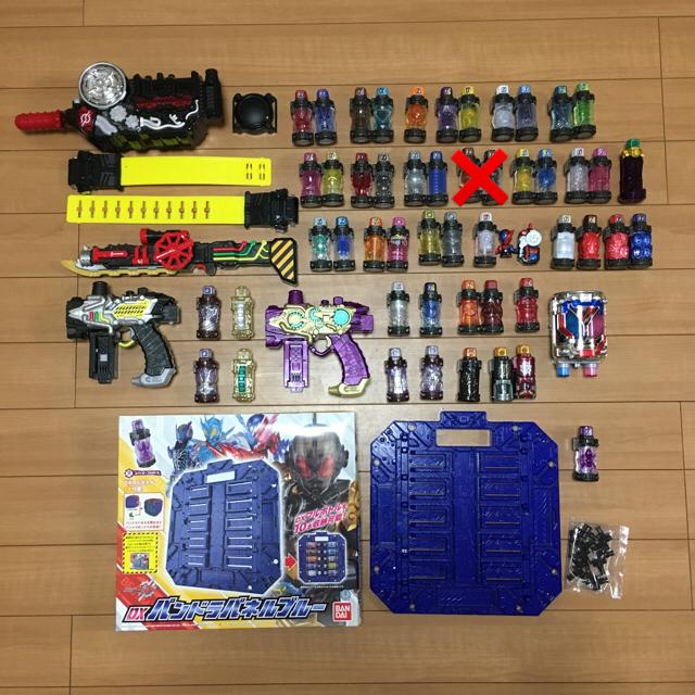 ヒナタ フィギュア | BANDAI - 仮面ライダー ビルド セット フルボトル 52本の通販 by るる525's shop|バンダイならラクマ