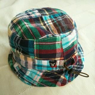 DOUBLE.B - 【美品】ミキハウス◆DOUBLE.B◆リバーシブル帽子(50~52)