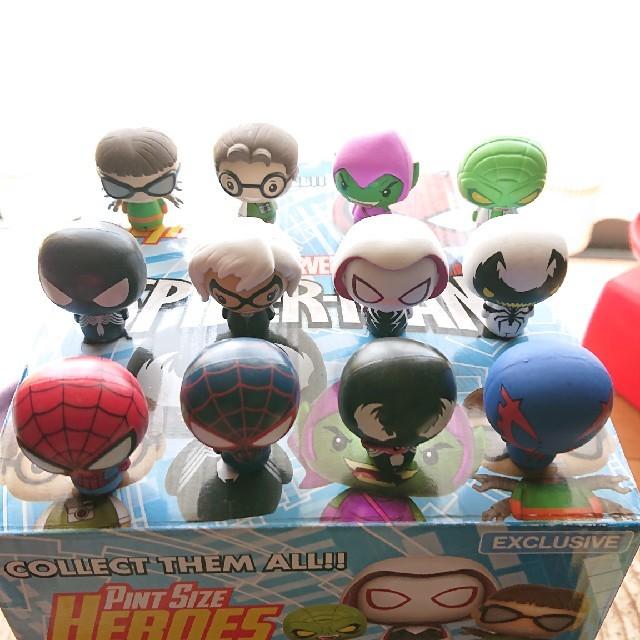 ギガパルス フィギュア | スパイダーマン ピントサイズヒーローズの通販 by ミニオンLOVE's shop|ラクマ