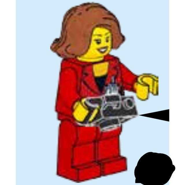 手作り フィギュア 材料 | Lego - 【新品】レゴ 女性記者 ミニフィギュア の通販 by フリル|レゴならラクマ