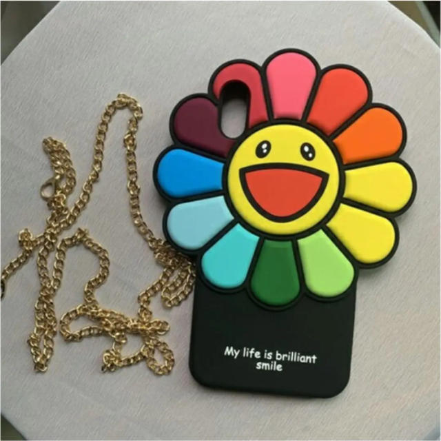 dior iphone8 ケース 革製 | カイカイキキ 村上隆 iPhoneケースの通販 by yuki's shop|ラクマ
