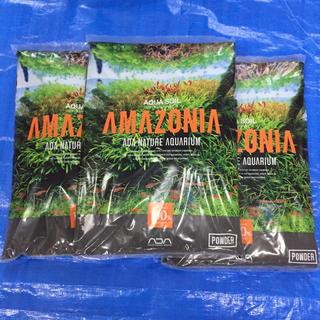 アクアデザインアマノ(Aqua Design Amano)のADA アクアソイル アマゾニア パウダータイプ9L 3袋(アクアリウム)