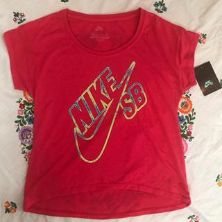 ナイキ(NIKE)の新品 NIKE/ girls (Tシャツ/カットソー)