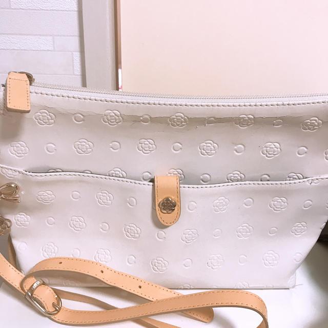 c7eb274102fd CLATHAS(クレイサス)のクレイサス ベティ ミニショルダーバッグ ベージュロゼ レディースのバッグ(