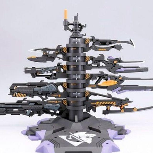 ガンダム ナイチンゲール | メタルビルド EVA武器パーツ裝備塔の通販 by c8's shop|ラクマ