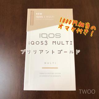 アイコス(IQOS)のiQOS3 MULTI ゴールド(その他 )