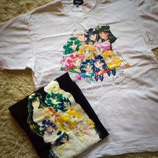 バンダイ(BANDAI)のセーラームーン Tシャツ Lsize×2(Tシャツ(半袖/袖なし))