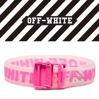 オフホワイト(OFF-WHITE)の【6】OFF-WHITE Rubber Industrial Belt  ベルト(ベルト)