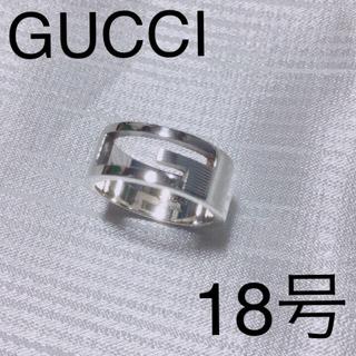 グッチ(Gucci)のグッチ18号 ブランデッドリング (定価25.920円)アイコンリング(リング(指輪))