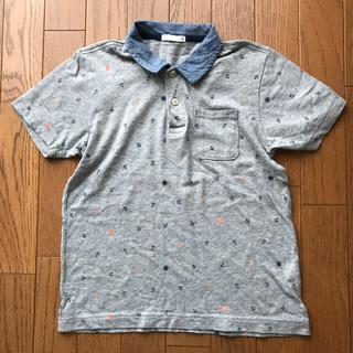 ジーユー(GU)のGU  半袖ポロシャツ 140(Tシャツ/カットソー)