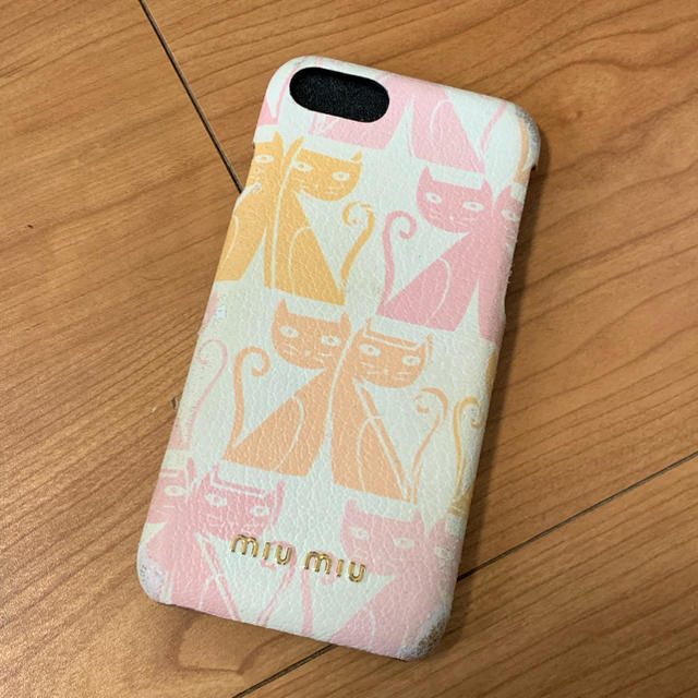 miumiu - MIUMIU iPhoneケースの通販 by nonona|ミュウミュウならラクマ