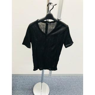 シェラック(SHELLAC)の【美品】SHEDESHELACダメージTシャツ(Tシャツ/カットソー(半袖/袖なし))