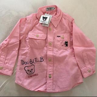 ダブルビー(DOUBLE.B)のダブルビー シャツ 90(ブラウス)