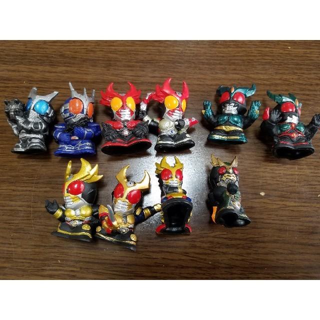 ワンピース プリーツ - 仮面ライダー アギト 10体セット 指人形の通販 by 戦闘員のお店|ラクマ