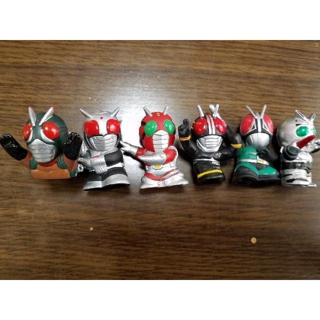 ワンピース ピース / 仮面ライダー 指人形 6体セット 昭和ライダー 2の通販 by 戦闘員のお店|ラクマ