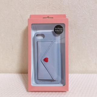 ハニーミーハニー(Honey mi Honey)のHONEY ME HONEY iPhone6.7.8 ポケット付きケース カバー(iPhoneケース)