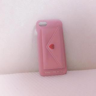ハニーミーハニー(Honey mi Honey)のHONEY ME HONEY iPhone6.7.8 ポケット付きカバー ケース(iPhoneケース)