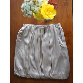 ナンバーヨンジューヨン(n°44)のバルーンスカート【0000】(ミニスカート)