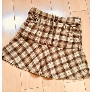 イーストボーイ(EASTBOY)の【新品】EASTBOY チェック スカート110(スカート)