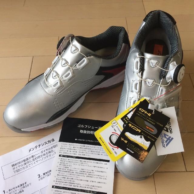 adidas(アディダス)の新品☆ゴルフシューズ adovisor(アドバイザー) 26.5㎝ スポーツ/アウトドアのゴルフ(シューズ)の商品写真
