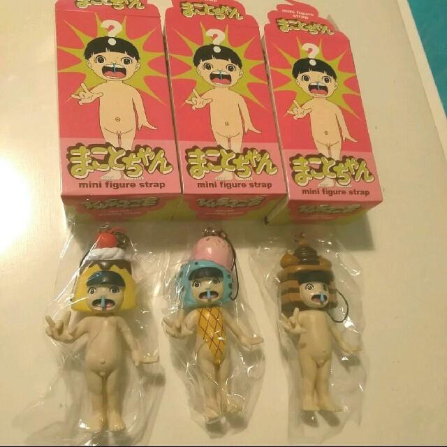 One piece film gold 映画 | まことちゃん フィギュア ストラップ 三種セットの通販 by あおみどり's shop|ラクマ