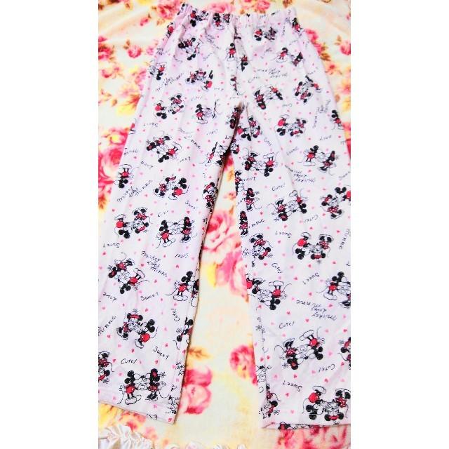しまむら(シマムラ)のディズニー☆ミニー☆パジャマ☆上下セット レディースのルームウェア/パジャマ(パジャマ)の商品写真