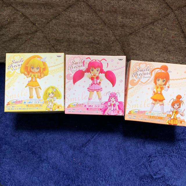 One piece dvd 一覧 、 スマイルプリキュア あつめてフィギュア1 3点セットの通販 by びぱのおみせ|ラクマ