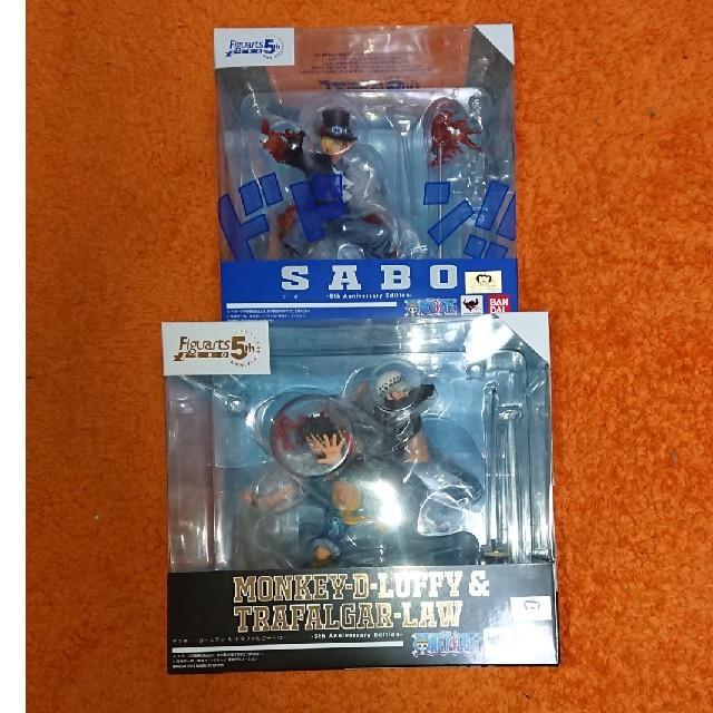 ワンピース ゲーム スマホ / 【送料無料】Figuarts ZERO 5th ルフィ&ロー/サボの通販 by レインボー's shop|ラクマ
