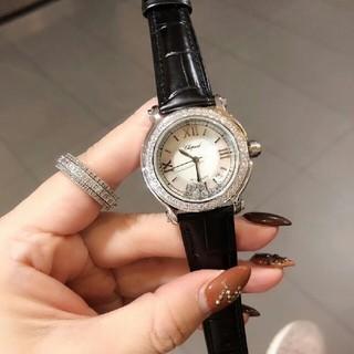 ショパール(Chopard)のショパール腕時計レディース 【専用箱付き】(腕時計)