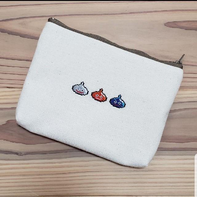 ワンピース 冬 プチプラ | ドラクエ 刺繍ポーチの通販 by *かなぼっちshop*|ラクマ