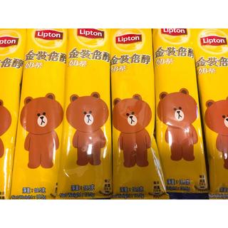 ユニリーバ(Unilever)の香港ミルクティー 10包み ミルクティ リプトン 紅茶(茶)