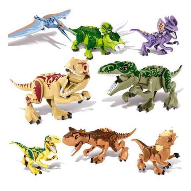 One piece ロビン フィギュア | LEGO レゴ 互換 恐竜 タイプD ジュラシックワールド ブロック 8体セットの通販 by Moana Toys's shop|ラクマ