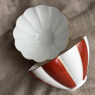 ニッコー(NIKKO)のニッコー 金沢の色 深緋 13cm菊型ボール(2個組)(食器)