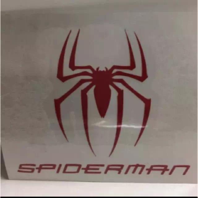 レディース ワンピース 長袖 / スパイダーマン ステッカーの通販 by チコアトム's shop|ラクマ