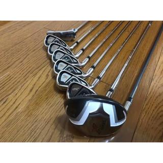 キャロウェイゴルフ(Callaway Golf)のキャロウェイ ゴルフクラブセット Xシリーズ レフティー用 ほぼ未使用(クラブ)