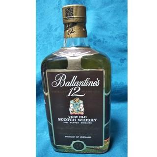 バランタインカシミヤ(BALLANTYNE CASHMERE)の稀少、バランタイン、スコッチウイスキー12年VERYOLD(ウイスキー)