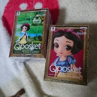 シラユキヒメ(白雪姫)の白雪姫 Qposket(キャラクターグッズ)