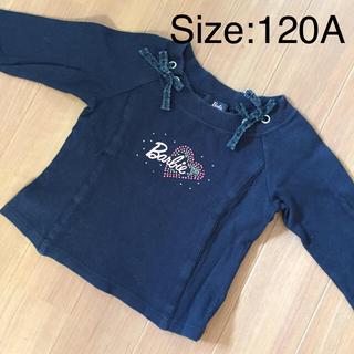 バービー(Barbie)のサイズ120A  長袖カットソー(Tシャツ/カットソー)