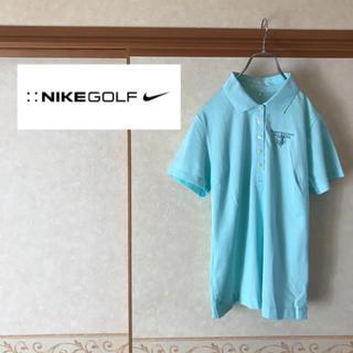 ナイキ(NIKE)の【早い者勝ち】極美品 NIKE GOLF ナイキゴルフ 半袖ポロシャツ M(ポロシャツ)
